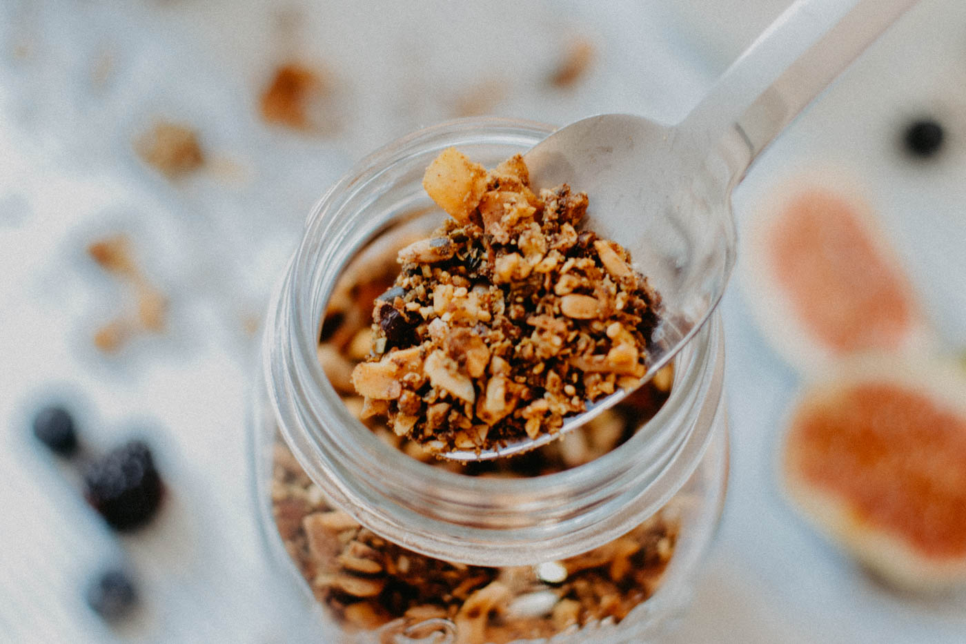 Gluten-free Granola with Maple Syrup