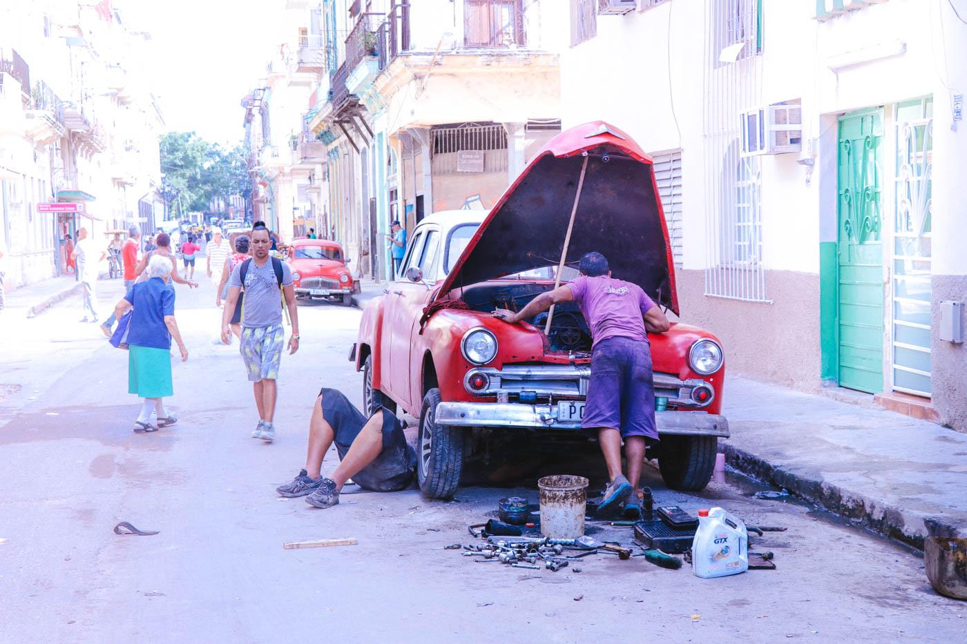 Cuba Car Repair