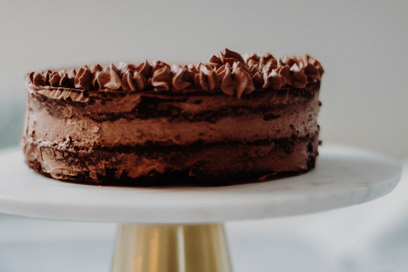 Paleo Keto Chocolate Mousse Cake - 1