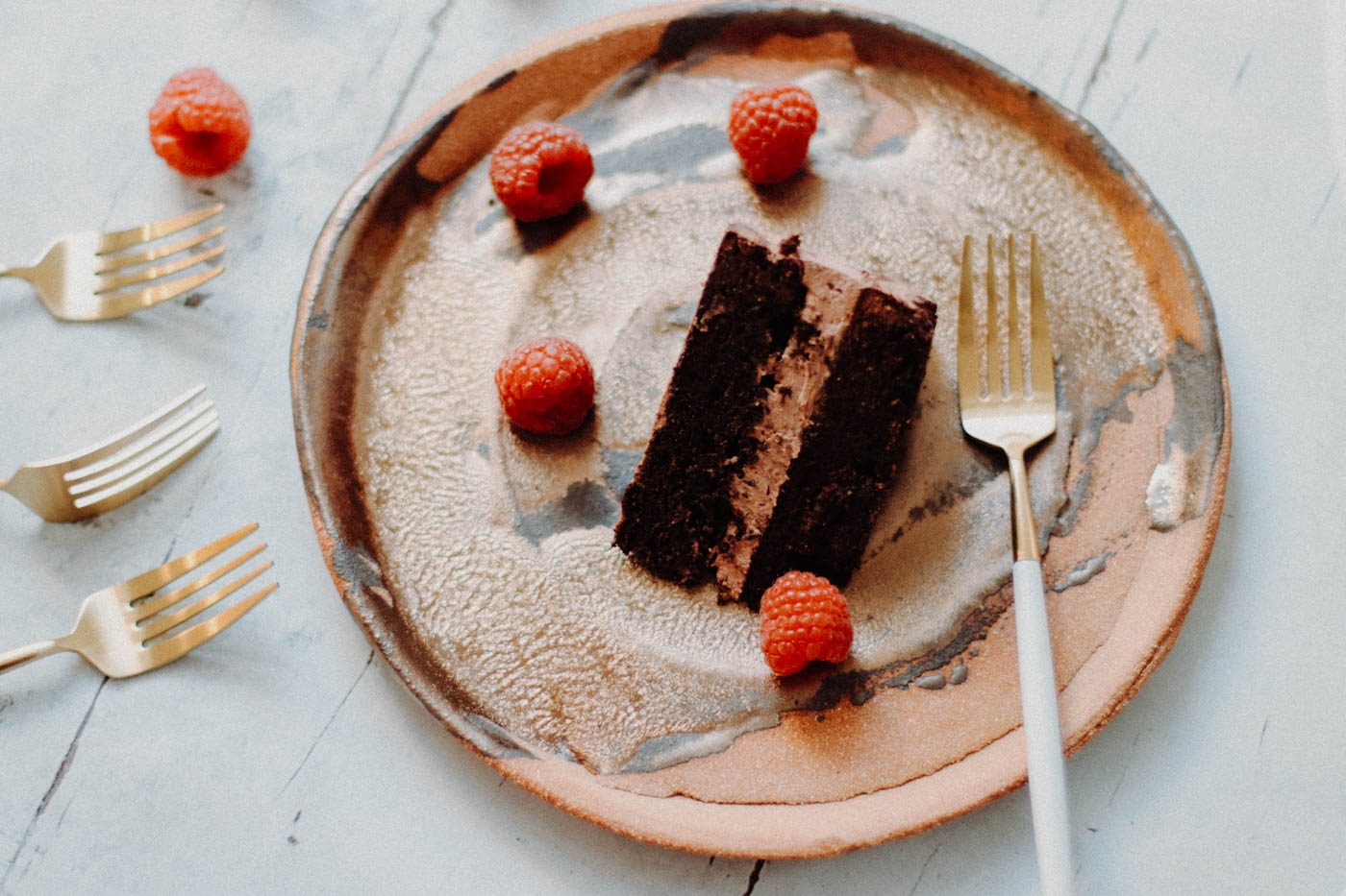 Paleo Keto Chocolate Mousse Cake - 10