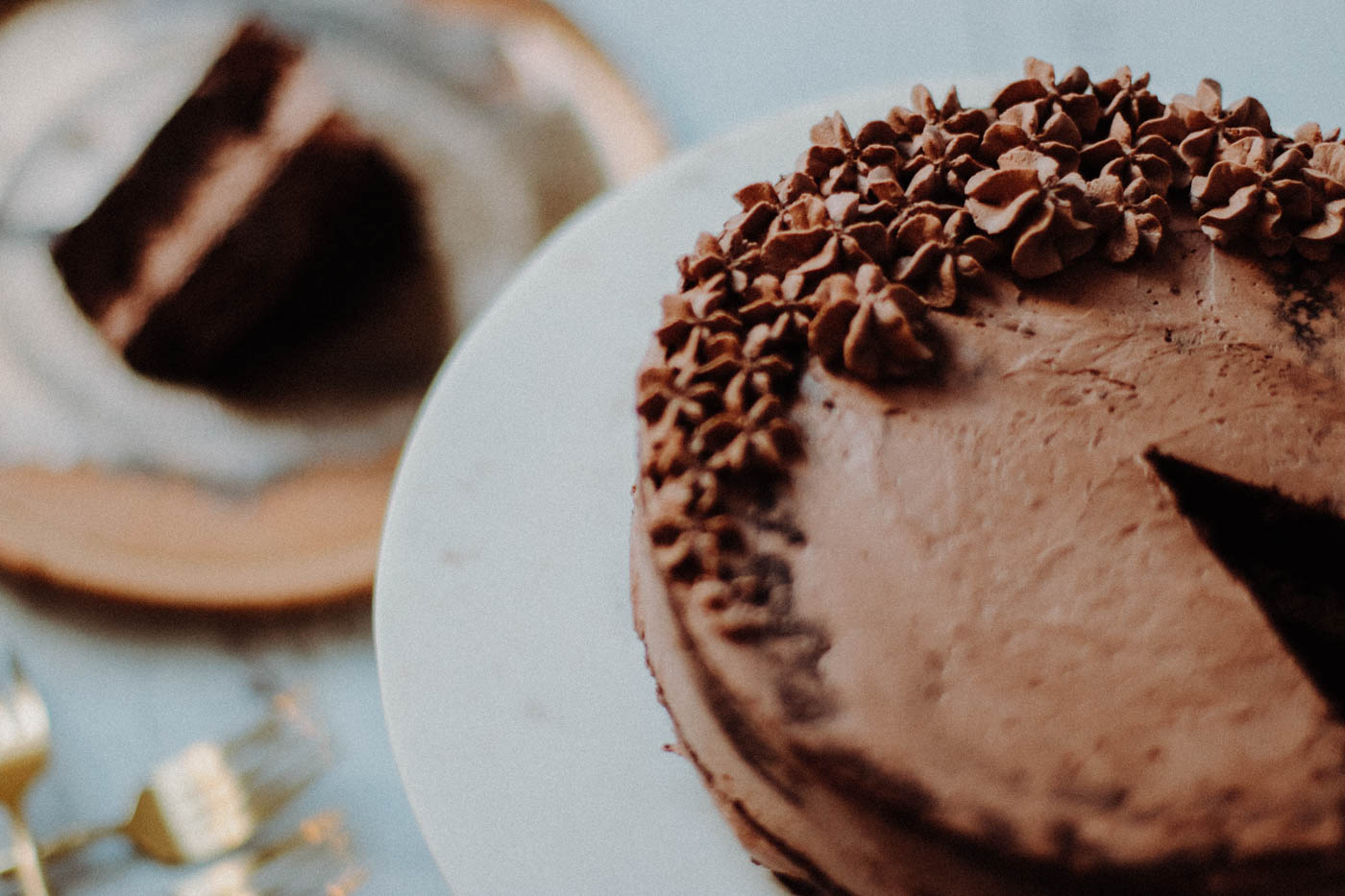 Paleo Keto Chocolate Mousse Cake - 5