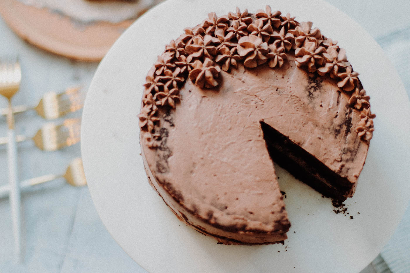 Paleo Keto Chocolate Mousse Cake - 7