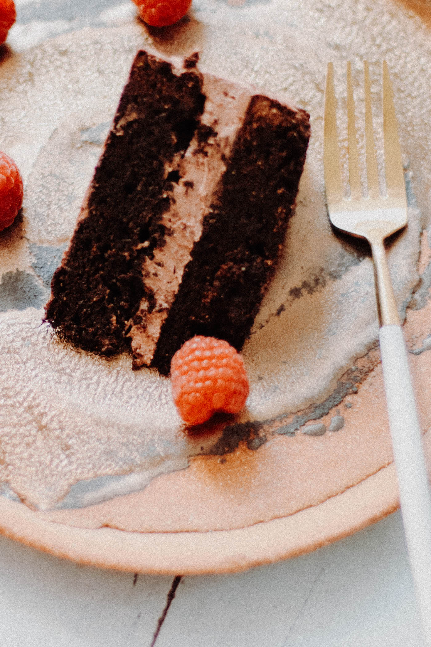 Paleo Keto Chocolate Mousse Cake - 9