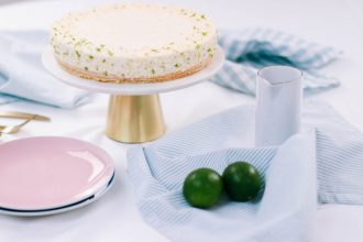 low carb lime pie