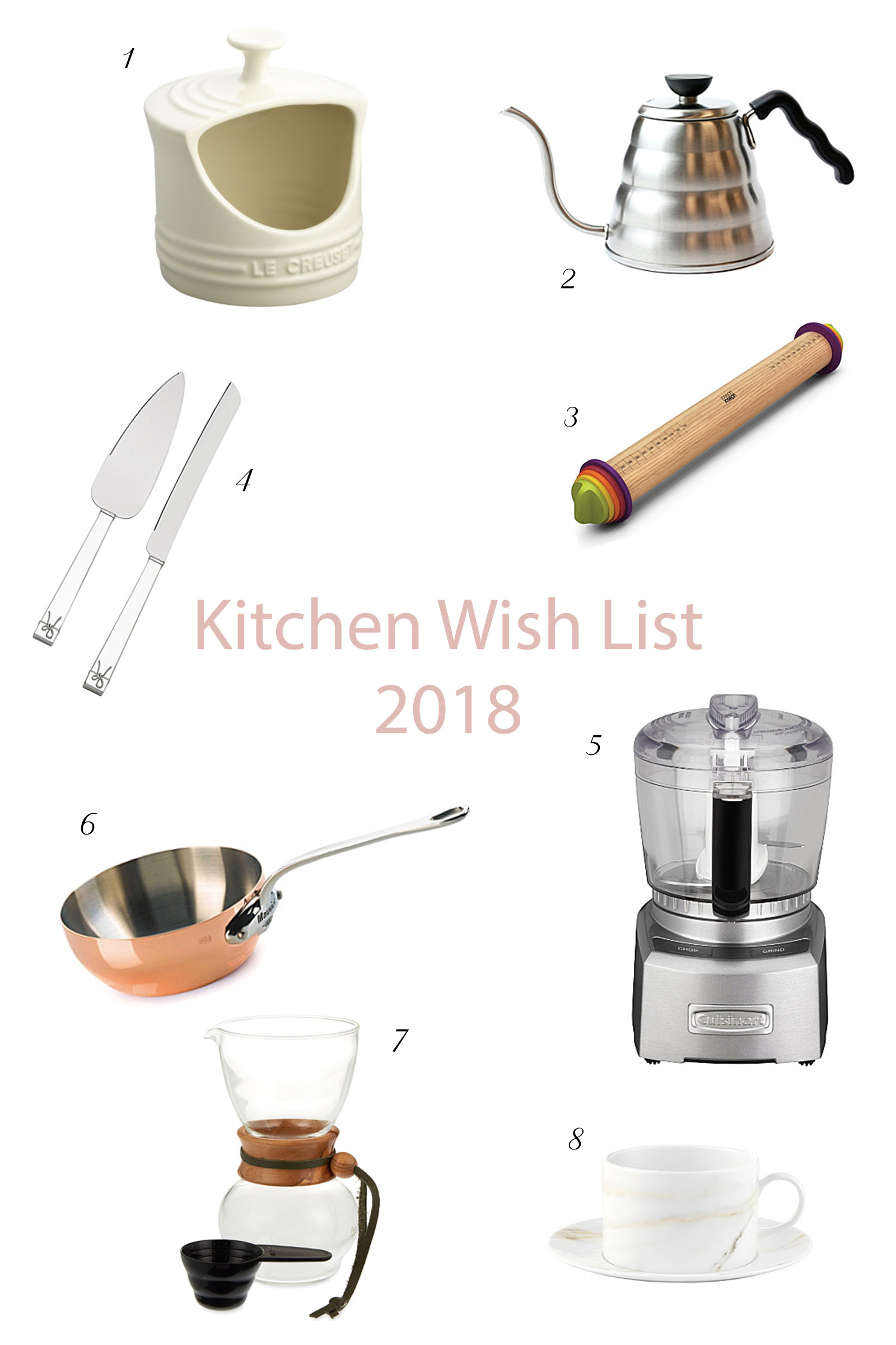 cooking tools wish list