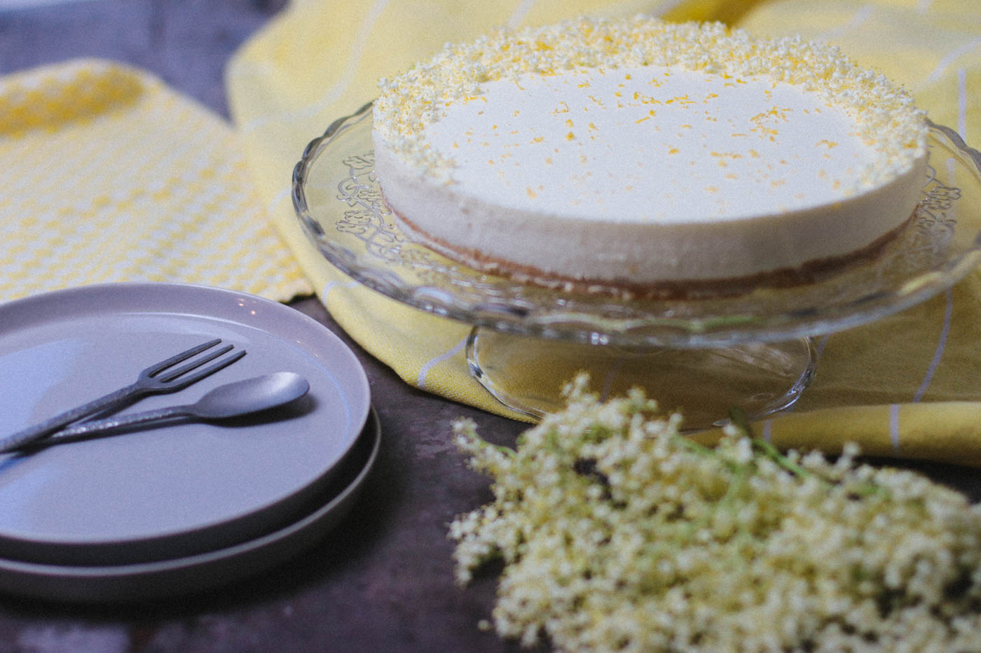 Elderflower Lemon Cake
