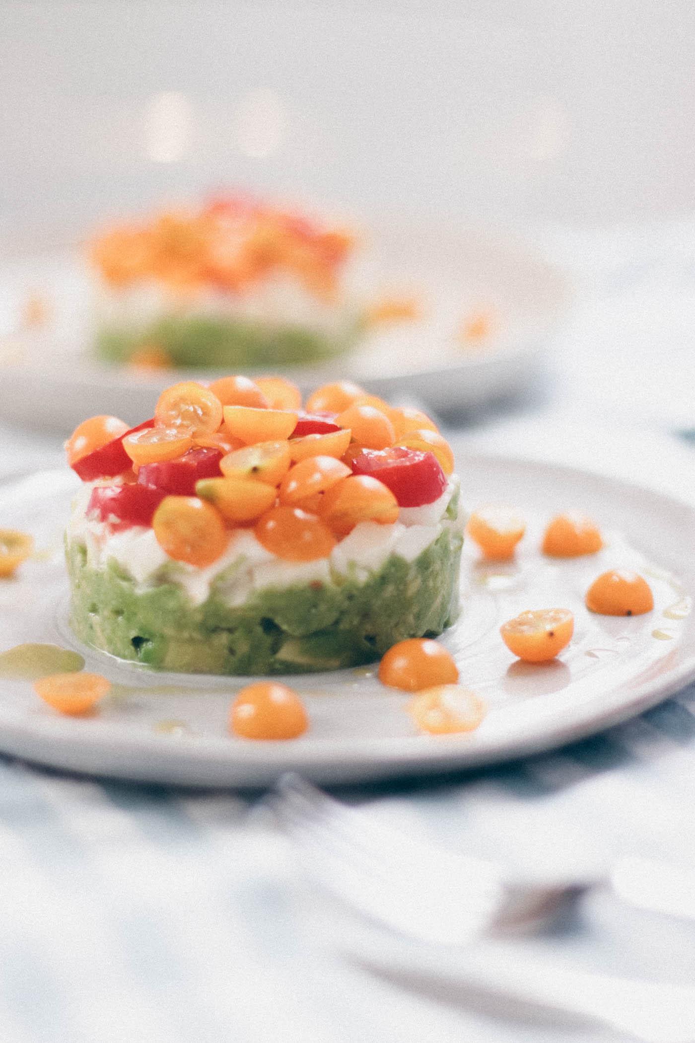 Mozzarella Tomato Avocado Tartare