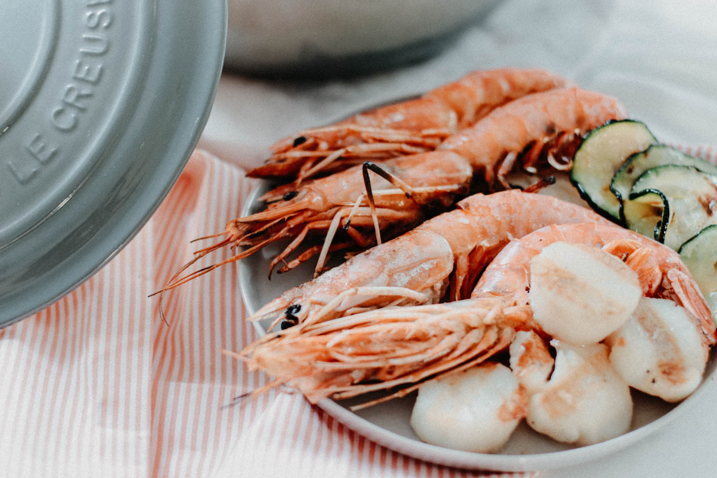 Zucchini Risotto - Courgette Risotto with Shrimps 3