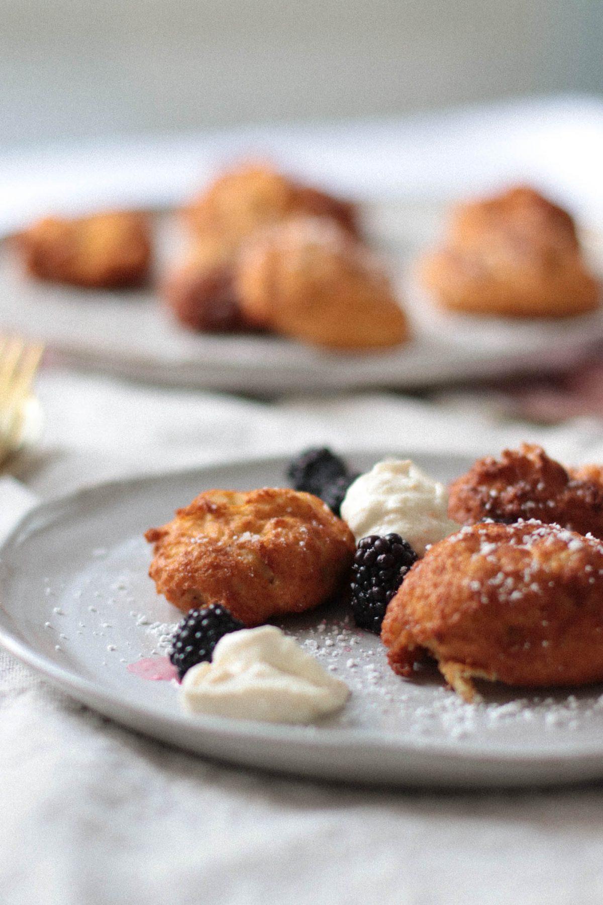 Ricottakrapfen - Ricotta doughnuts - Ricotta donuts - Baci di Ricotta 6