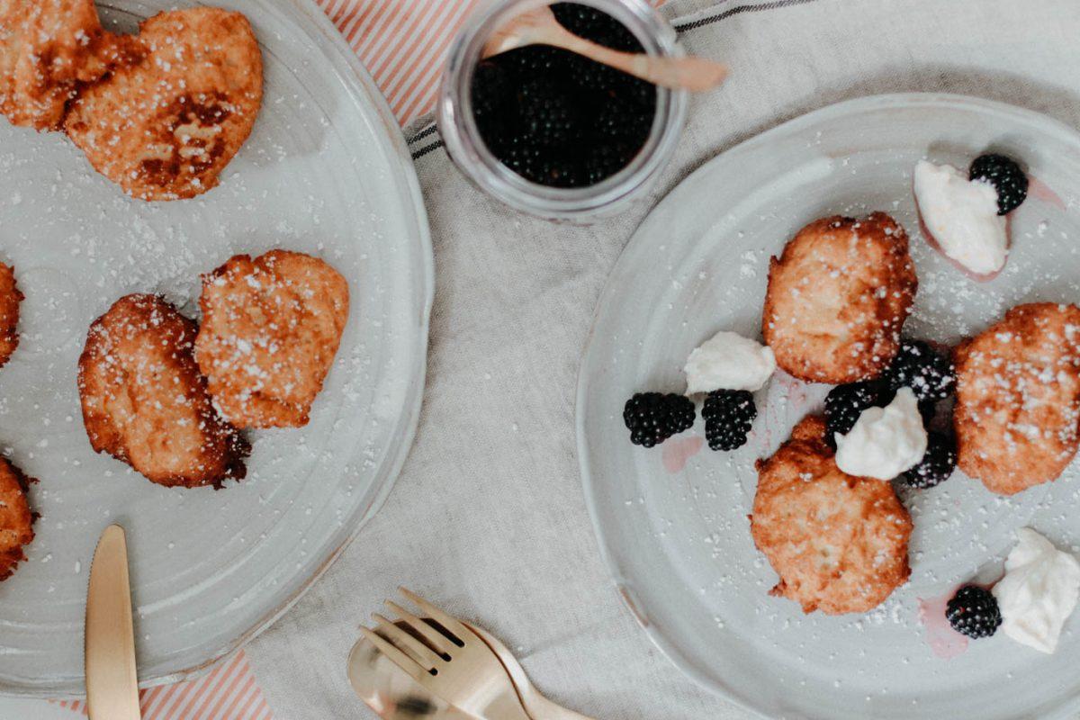 Ricottakrapfen - Ricotta doughnuts - Ricotta donuts - Baci di Ricotta 8