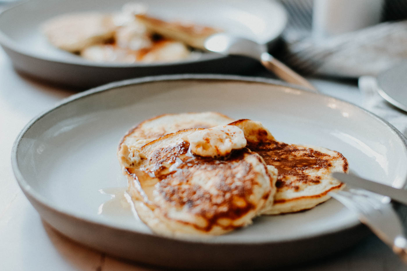 Lowcarb Ricotta Hotcakes with Honeycomb Butter - Bill Granger 12