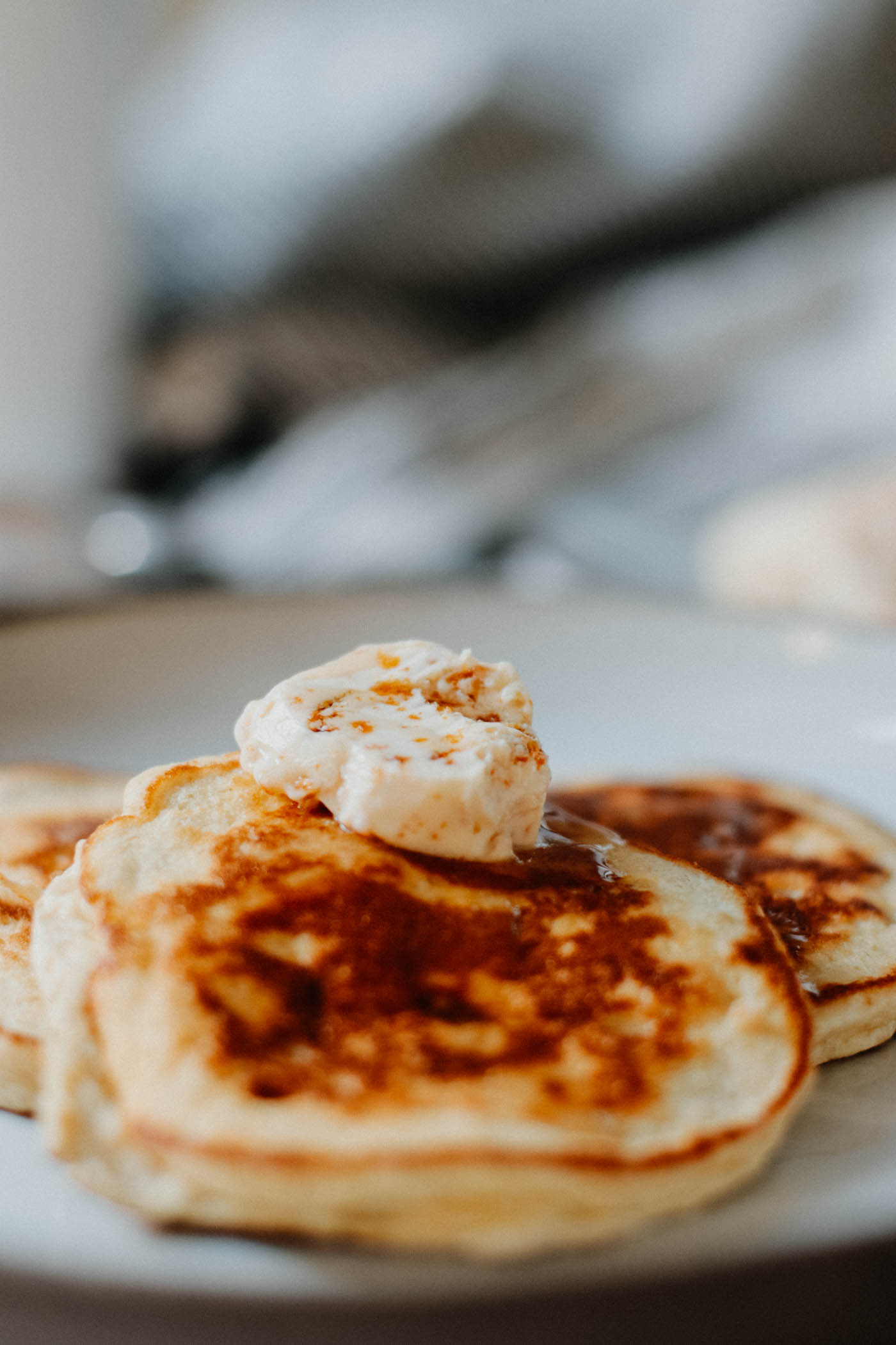 Lowcarb Ricotta Hotcakes with Honeycomb Butter 8