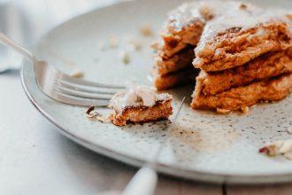 Keto Pumpkin Spice Pancakes - 10