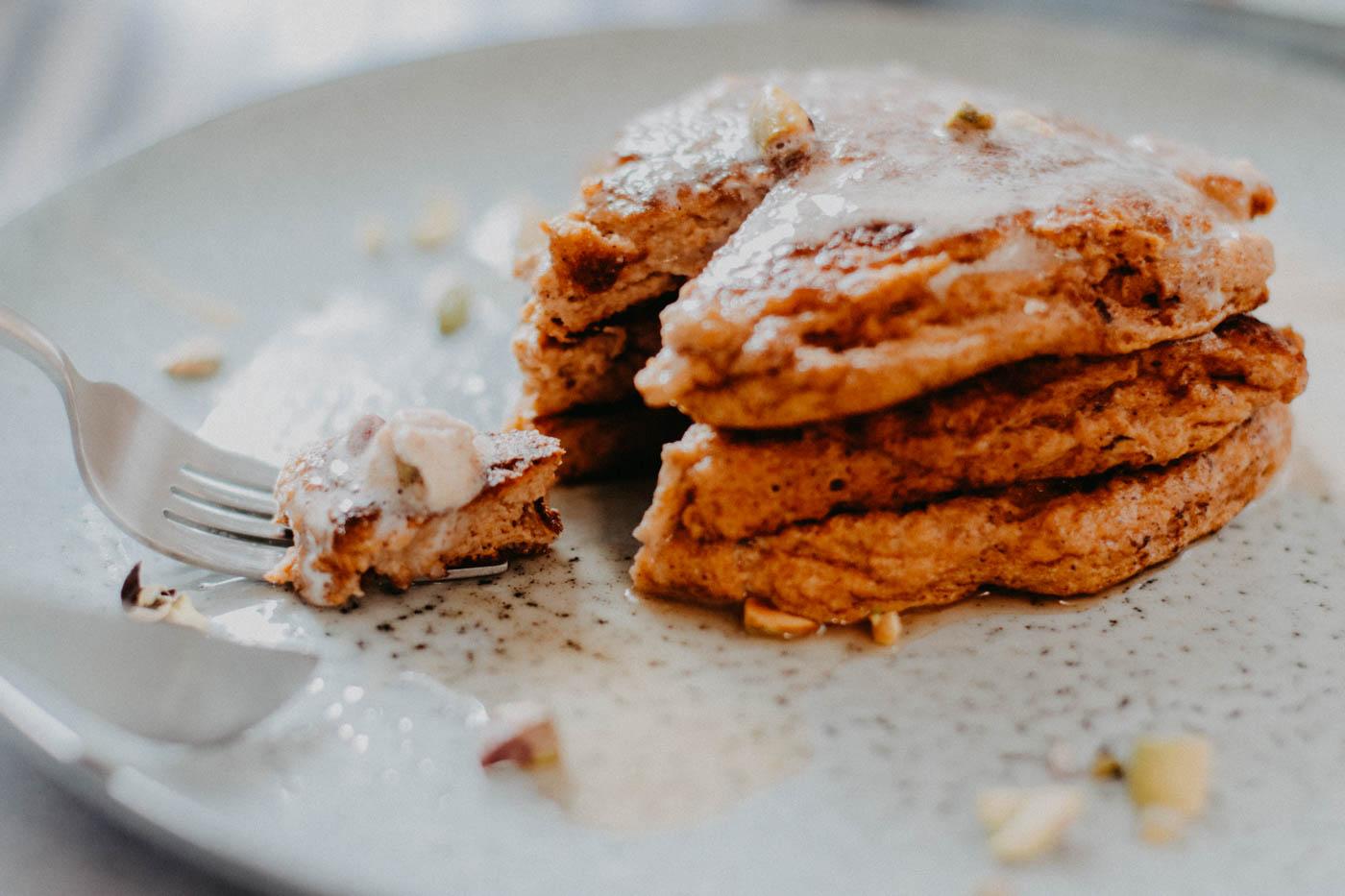 Keto Pumpkin Spice Pancakes - 11