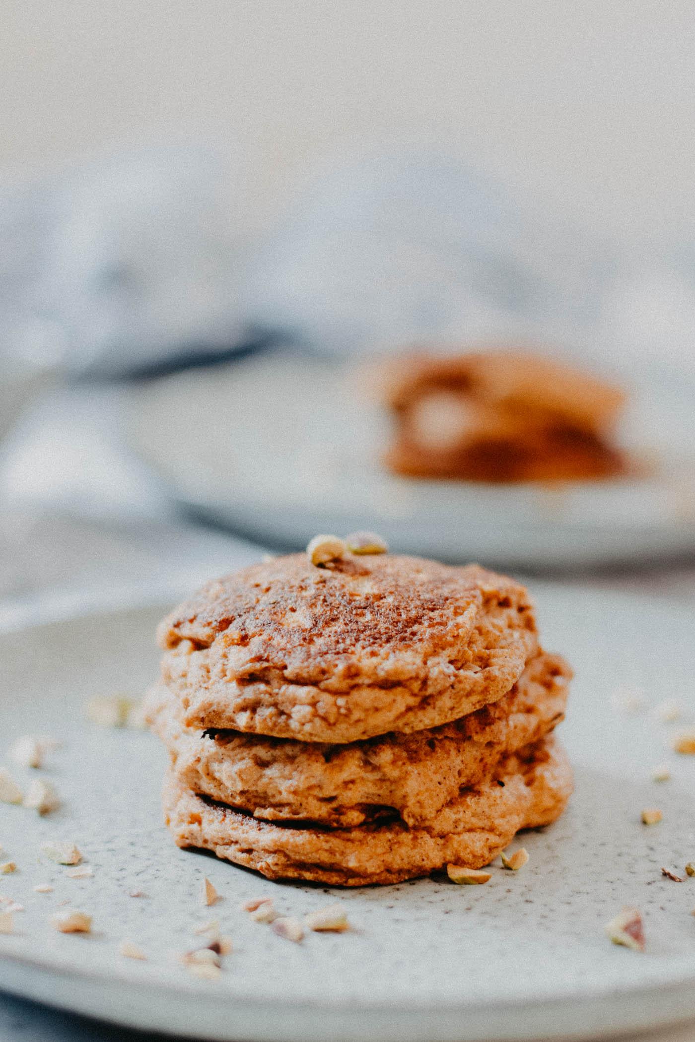Keto Pumpkin Spice Pancakes - 3