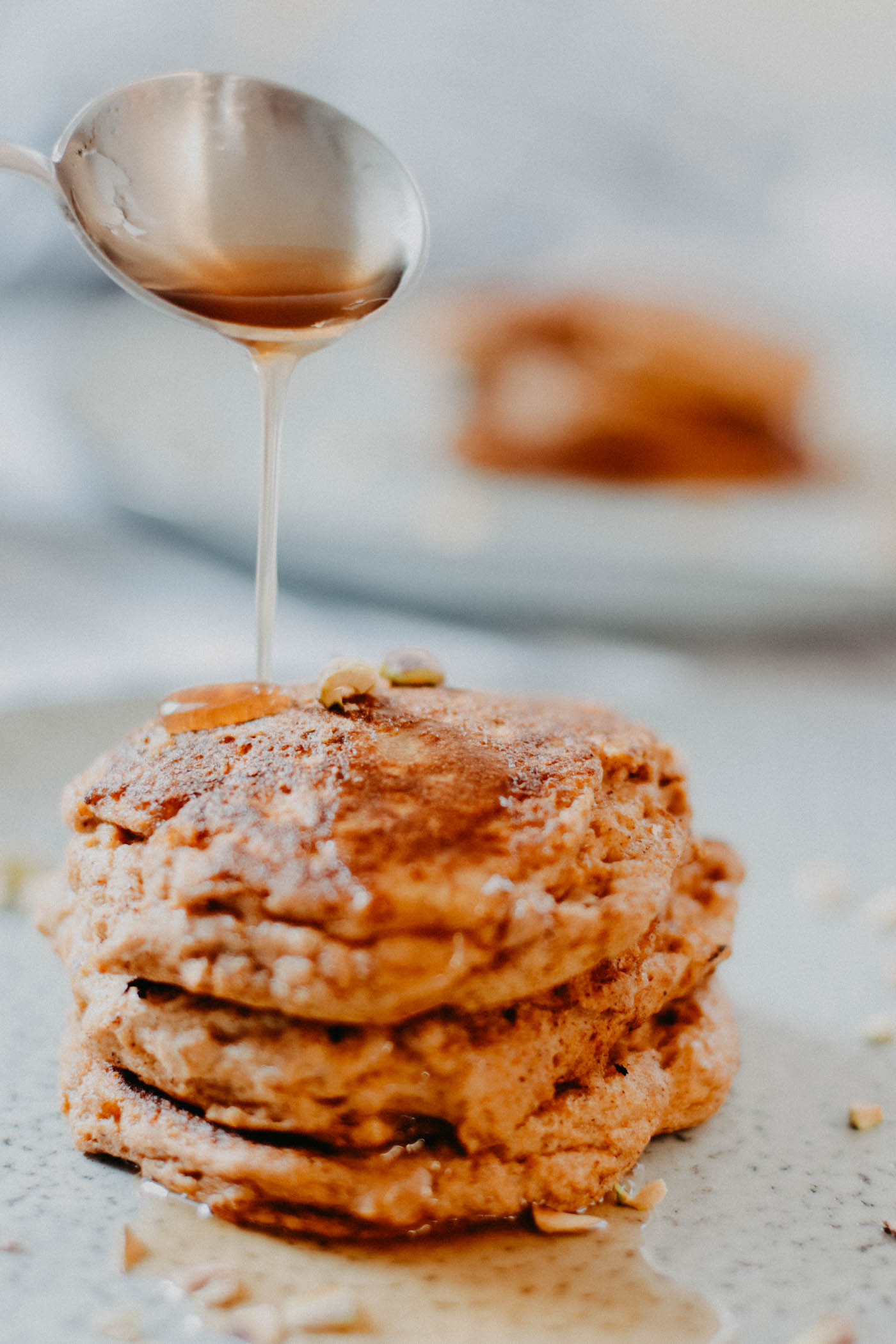 Keto Pumpkin Spice Pancakes - 4