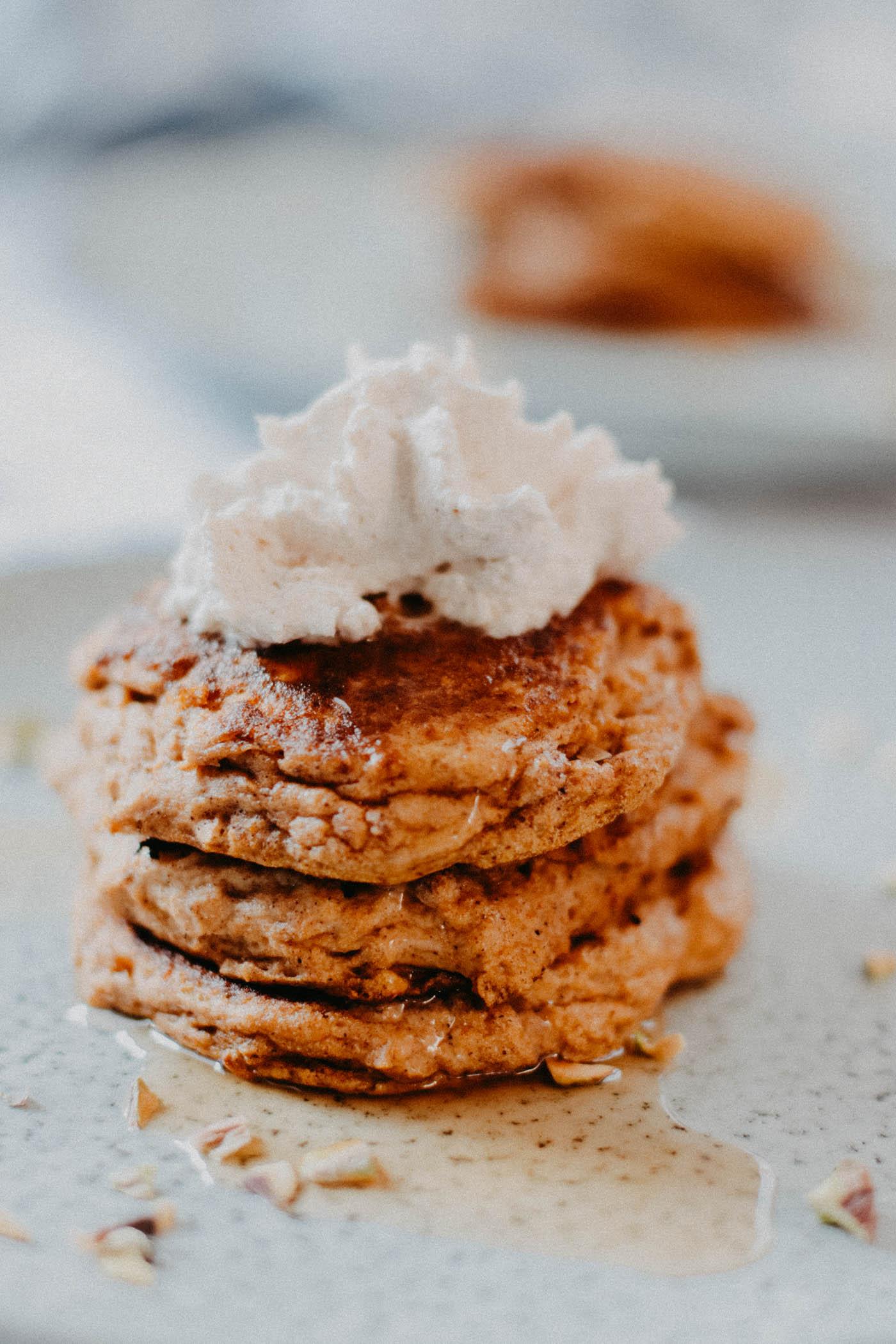 Keto Pumpkin Spice Pancakes - 5