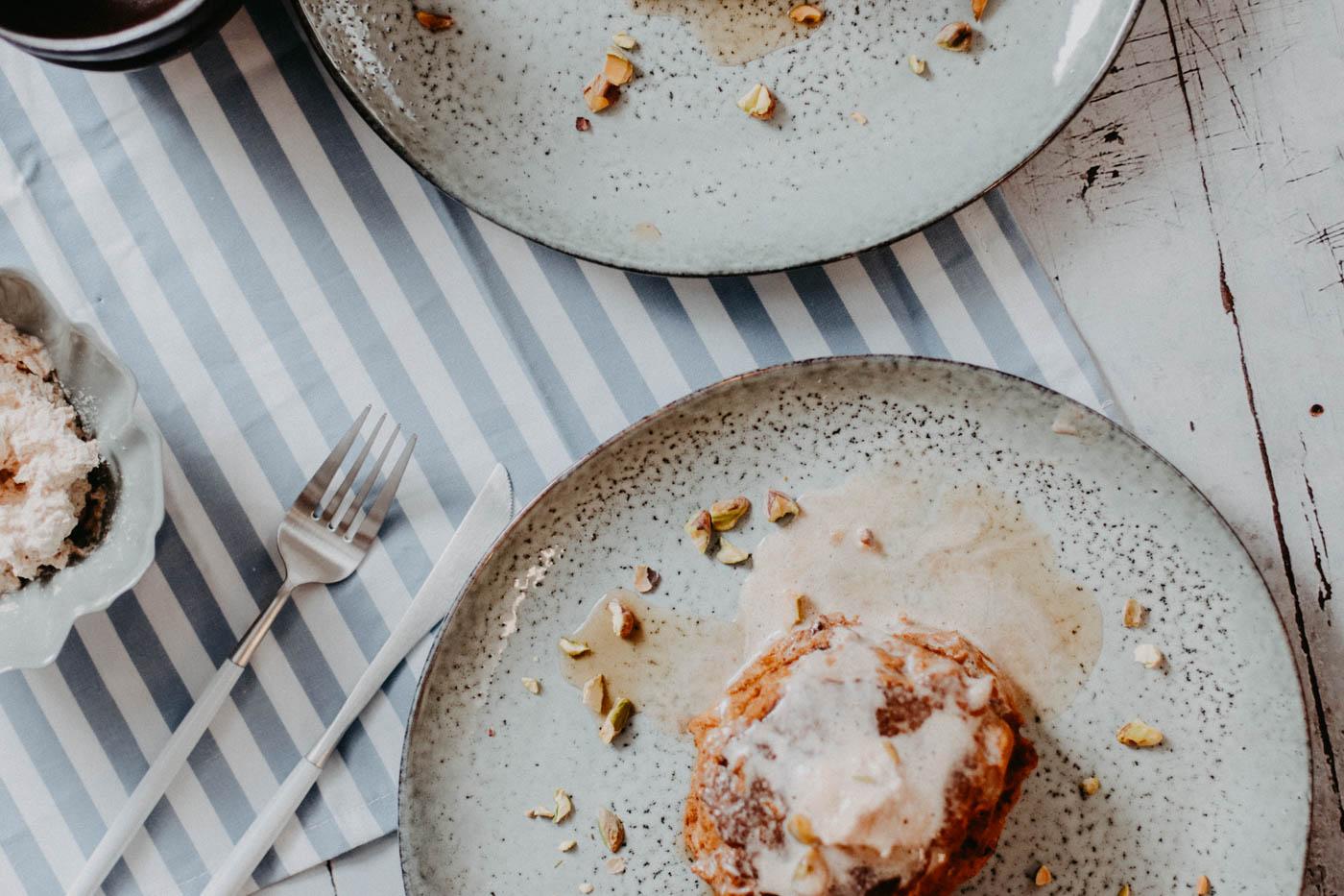 Keto Pumpkin Spice Pancakes - 8