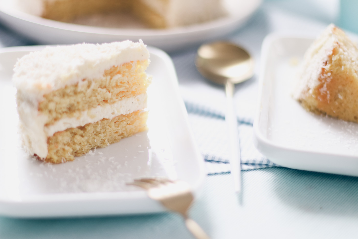 Coconut Cake A super moist and extra delicious recipe. It's low-carb, gluten-free and ketogenic.